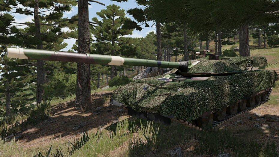 ajout camo sur MBT 100